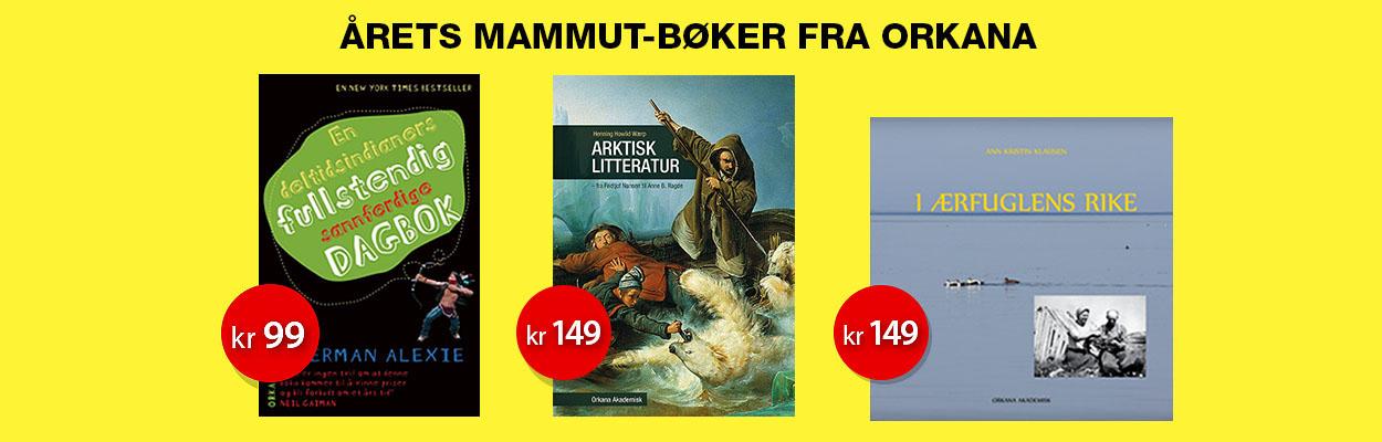 Årets mammut-bøker